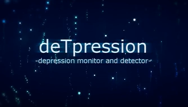 DeTpression: Depression monitor and detector logo