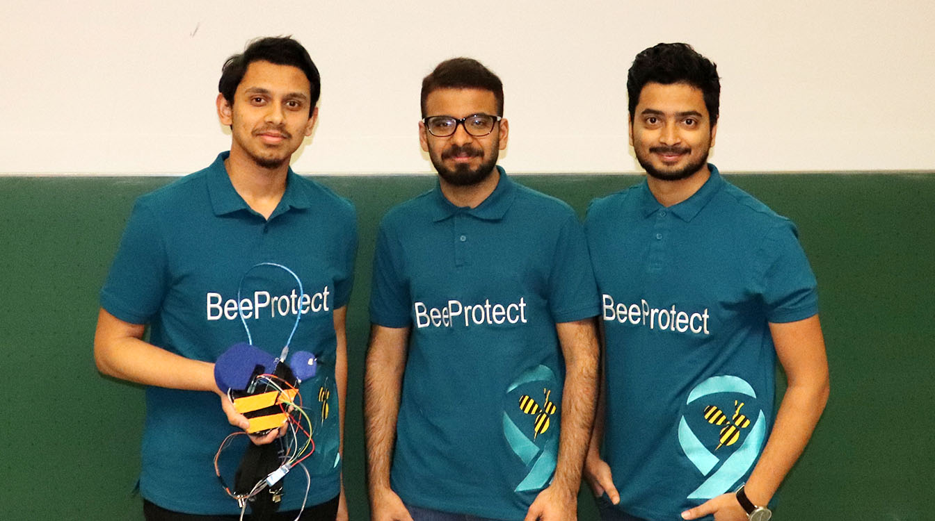 Group photo of BeeProtect