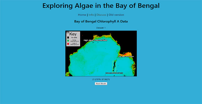 Exploring Algae in the Bay of Bengal screenshot