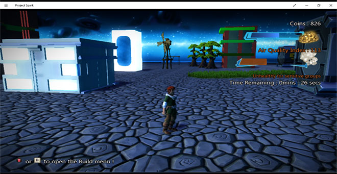 A screenshot of Medhansh's project